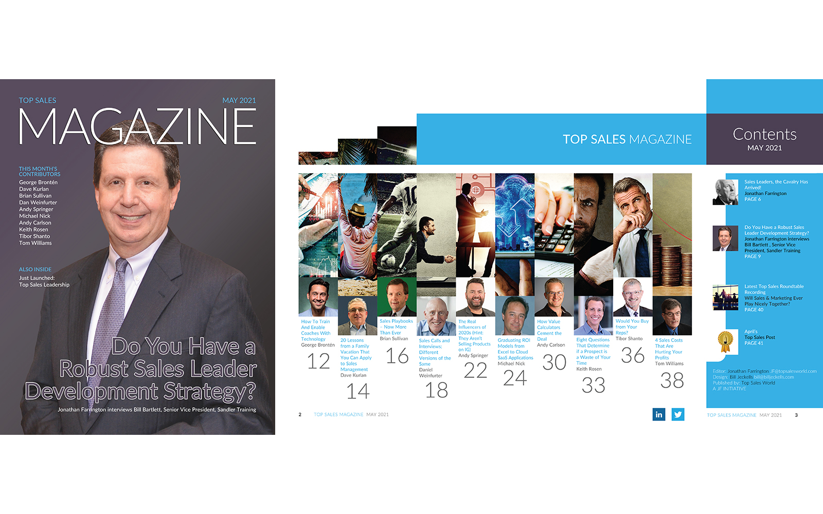 Top Sales Magazine May 2021