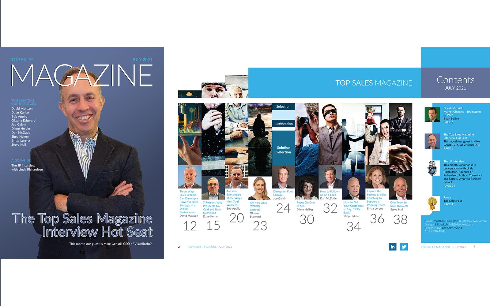 Top Sales Magazine July 2021