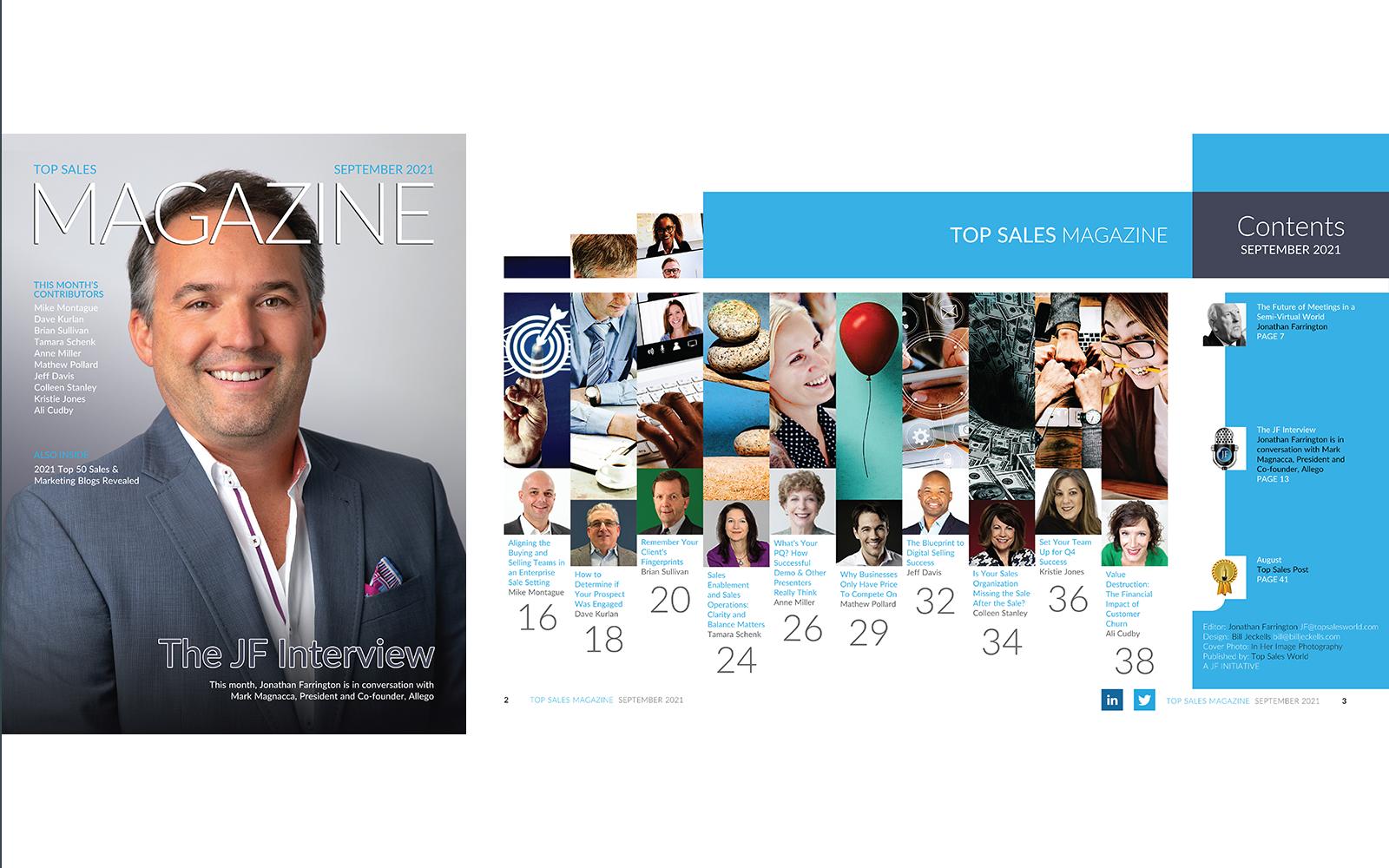 Top Sales Magazine September 2021