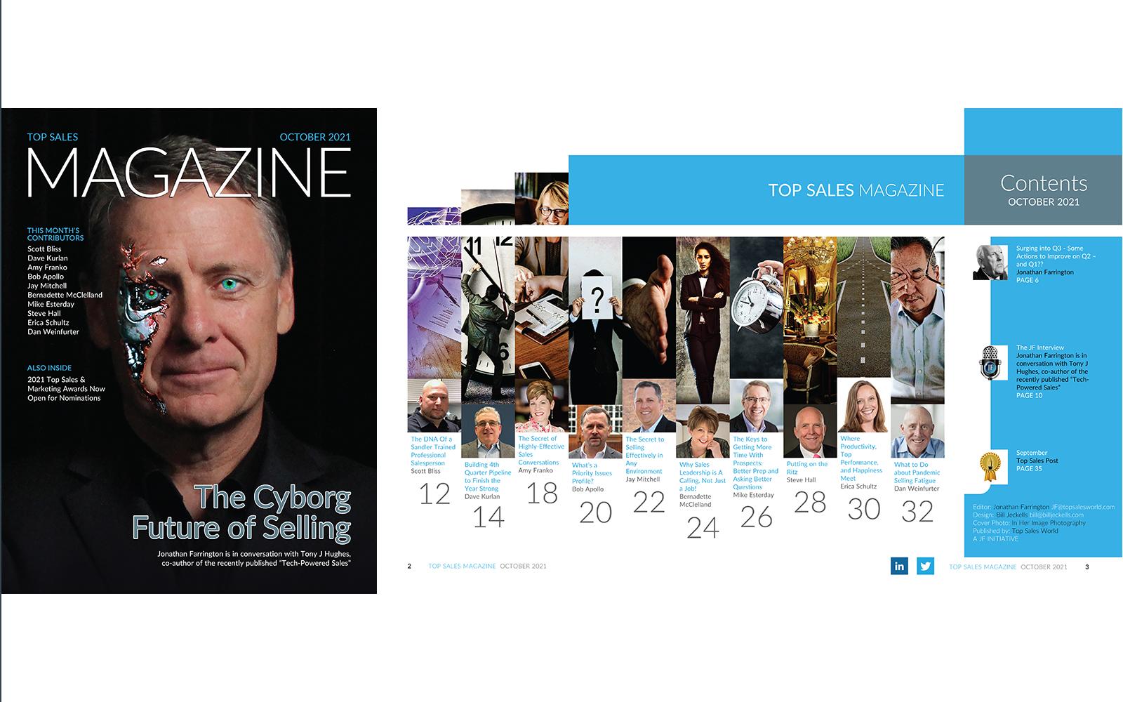 Top Sales Magazine October 2021